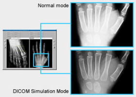 Режим DICOM Simulation